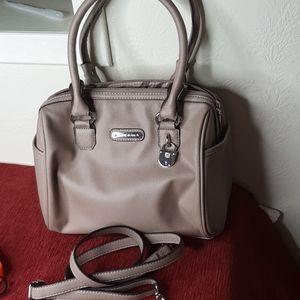 Anne Klein faux leather handbag